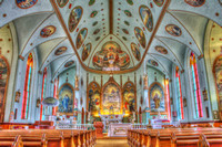 St. Ignatius Catholic Church Interior Landscape (2)