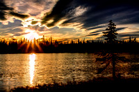 First Sunset of Summer - Lily Lake - 2012 (1)