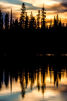 First Sunset of Summer - Lily Lake - 2012 (10)